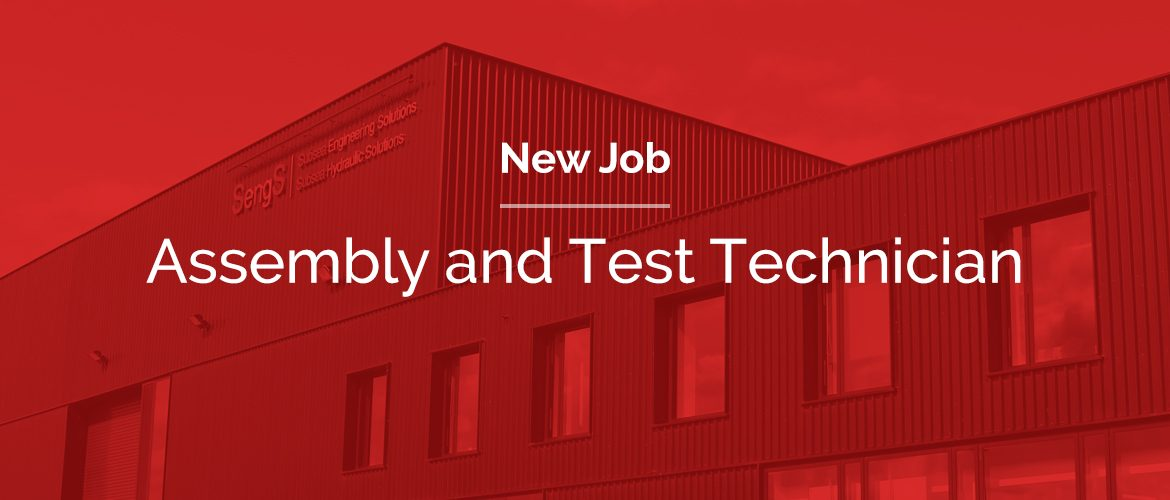 job opening for an Assembly and Test Technician