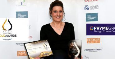 Pryme Group CFO, Kerrie Murray, wins P&J Energy Voice Gold Award